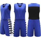 Classic Breathable Design Running Blank Basketball Jersey Kit Uniforms Suits