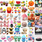 Jumbo Slow Rising Squishies Scented Charms Kawaii Squeeze Toy Collection Lot HOT