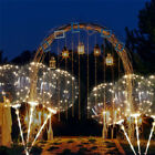 Luminous Led Balloon Transparent Round Bubble Christmas String Light Party Decor