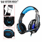 EACH G9000 3.5mm Gaming Headphone Microphone USB Headset LED Light For PS4 LDT