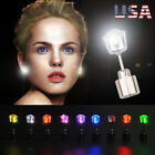 Внешний вид - 3-9 Pair Unisex Light Up LED Bling Ear Studs Earrings Accessories For Party/Xmas