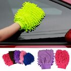 Super Mitt Microfiber Fiber Car Glove Cleaning Sponge Cloth Towel Wash Dry Tool