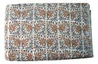 Cotton Voile Fabric Natural Crafting Hand Block Print fabric By the yard V-82