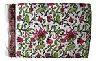 Cotton Voile Fabric Natural Crafting Hand Block Print fabric By the yard V-83