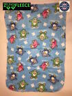 "ZooFleece Blue Penguins 30X40"" Baby Blanket Throw Quilt Unisex Kids Fleece Warm image"