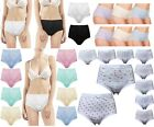 Size 12-28 Mixed Lot 12 Pair Full Brief Shorts Full Coverage Warm Ladies Winter