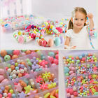 Acrylic Bead Assorted Plastic Kit Accessories Jewelry Making Beads Craft Set New