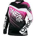 """NEW 2018 ONEAL KIDS """"ELEMENT JERSEY """" - PINK/BLACK -YOUTH SM,MD,LG,XL FREE POST"""