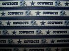 "5 yards Cowboys NFL 7/8"" printed grosgrain ribbon *USA SELLER*FREE SHIPPIN"