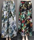 New QUELQUE by FILO Tropical Floral Resort Beach Pants Skant  8 10 12 14 16 18