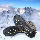 Alps Ice Cleats Grips Snow Tractions Spikes + 10 Extra Replacement Steel Studs