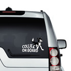 English Border Collie Car Window Bumper Sticker Sheep Dog Sheepdog Working Dog
