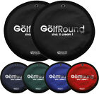 2 PACK - GolfRound Towel Pocket Golf Ball Cleaner | Golf Round - CHOOSE COLOR!