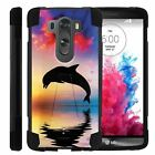 For LG V10 Case / LG G4 Pro Dual Layer Hybrid Shell Kickstand Fitted Case