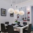 Modern Led Celling Lamp Simple Ceramics Creative Round Ball Lights Chandelier