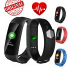 CD02 Bluetooth Smart Band Watch PPG Heart Rate Monitor Fitness Tracker Wristband