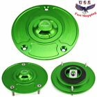 Keyless Fuel Gas Tank Cap Cover For Suzuki GSXR600 /750/1000 SV1000S CNC 5-Color