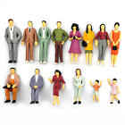 100pcs/set HO Scale Mix Painted Model Street Passenger People Figures Hot Sale