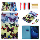For Amazon Kindle Fire 7 2015 Magnetic Cards Wallet Pattern Leather Case Cover