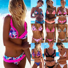 Women Sexy Bikini set Push up padded Neon Bandage swimwear swimsuit bathing suit
