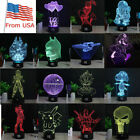 Star Wars 3D LED Decor Night Light Touch Table Desk Lamp Bedroom Gift 7Color $32.98 USD on eBay