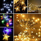 3M 20 LED Stars Fairy String Lights Indoor Room Xmas Wedding