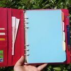 5pc A5/A6 Blank Index Multi-Colour Schedule Tabs Divider Insert Refill Organiser