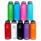 18oz/32oz/40oz Hydro Flask Insulated Stainless Water Bottle Sports , Wide Mouth