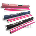 Pink Full Length 2-Piece Pool Snooker Billiard Cue With Black Pink Blue Case AU $81.59 AUD on eBay