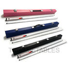 White Full Length 2-Piece Pool Snooker Billiard Cue With Black Pink Blue Case $68.99 AUD on eBay