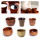 Natural Small Handmade Solid Wood Tea Cup Wooden Wine Coffee
