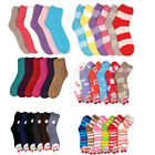 Women's Girls Soft Slipper Fuzzy Cozy Warm Winter Bed Socks Men Wholesale Lots