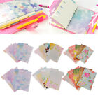 page divider template - 5Pc Flower Dividers Accessories for Dokibook Notebook Planner A5 A6 Index Page