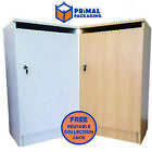 Confidential Waste Cabinet with Lock and Paper Slot + FREE Collection Sack
