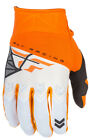 FLY RACING F-16 GLOVE RACEWEAR ORANGE WHITE SIZE X-LARGE XL 371-91811