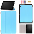 Folio Smart Wake/Sleep Stand Shockproof Cover Case For Huawei MediaPad T3 10""