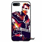 For iPhone X 4 4S 5 5S SE 6 6S 7 8 Plus King Rock Roll Elvis Presley Phone Case