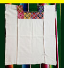 Authentic Handmade embroidered Mexican blouse Stretch Cross Stitch #2