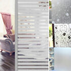 UK PVC Frosted Glass Window Privacy Self Adhesive Film Sticker Bedroom Bathroom