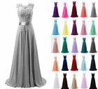 Chiffon Long Evening Party Ball Gown prom dress Bridesmaid Dresses Size 6-18++++