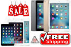 Apple (White/Gold/etc) iPad 2/3/4, Air,mini 16GB/32GB/64GB/128GB/256GB WiFi+4G