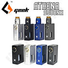 AUTHENTIC GEEK ATHENA SQUONK   MOD ONLY or  FULL KIT w ATHENA 24MM RDA Squonker