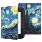 For Barnes & Noble NooK GlowLight 3 eReader BNRV520 2017 Folio Case Cover Stand