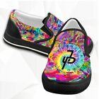Jake Paul its Everyday Bro Rainbow Reggae Logo Casual Slip On Shoes