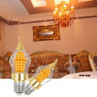 2 x LED Bulb Chandelier Flame Candle Light E27 15W Warm Cool White Light Lamp US