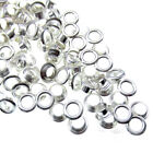 200/500 Small Silver Eyelets Hole metal Eyelets 4mm For Craft Card Making 8.0mm
