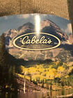 NWOT's Cabelas Single Pair 9-12 Size Large 11 inch Hiking Crew Socks Mens
