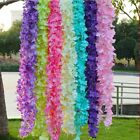 Artificial Silk Fake Flower Garland Ivy Vine Wisteria Hanging Wedding Home Decor