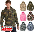 Fleece Camo Pullover Hooded Sweatshirt Military Tactical Hunter Blend-IN PC78HC