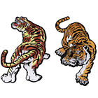 1Pcs DIY Embroidered Applique Iron On Sew On Patch Tiger Pattern Gift Collection